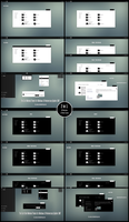 The Cost Black and White Minimal Theme Windows 10 by Cleodesktop