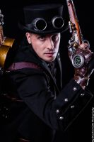 Steam Flying Man at Japan Expo 2012 by boss8080
