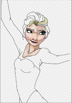 Elsa (Progress Shot) by TheForgottenWeasley