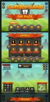 Cartoon Games GUI Pack 17 by pzUH