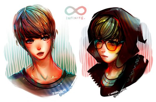 MyungYeol Speed Paint by sepiablue
