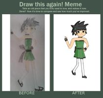 Draw it again: Buttercup by Rini2012