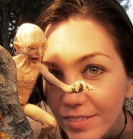 ME and MY PRECIOUS Gollum! by frybla