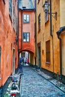 Streets of Stockholm by CitizenFresh