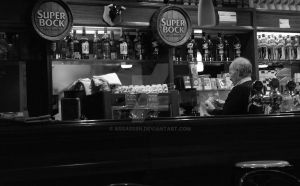 Old Barman by AssassIIn