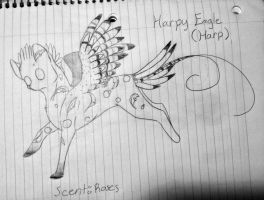 Harp temporary ref by WolfStarr7