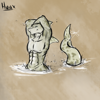 Huux the Shark (sfw) by fabman132