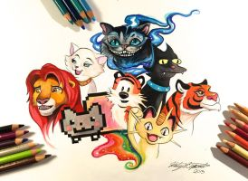 137- My Favorite Felines by Lucky978