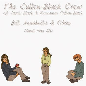 The Cullen-Black Crew 2015 by MandiPope