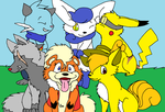 PMDU: Group Photo! by XfangheartX