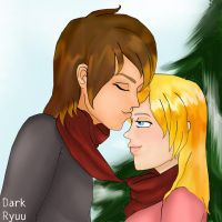 Harvest Moon: Cliff x Jill by darkryuu