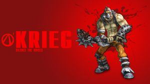 Borderlands 2 Krieg Wallpaper by CodyAWilliams
