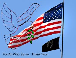 For All Who Serve... by PridesCrossing