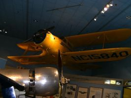 Airplane at the NASM by flourpie