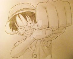 Luffy by 3pOTuKa