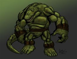Leatherhead by Ninja-Turtles