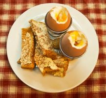Day 183: Egg and Soldiers by Kaz-D
