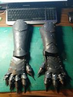 Gauntlets dyed by PracticalApplication