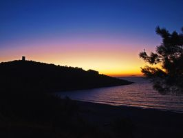 Chios Sunset by macrodger