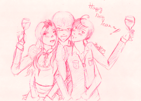 APH: Happy New Year by Keissy-chan