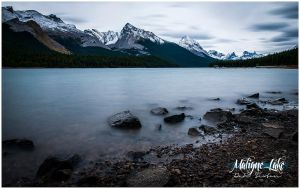 Maligne Lake by Solau
