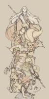 Chrono Trigger Party by sambees