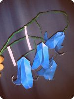 Origami Bluebells by bonztee