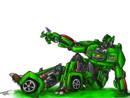 Chad the autobot by munchkin-t