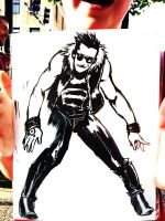 Greed pin-up for Free Comic Book Day 2012 (a) by TheJohnsonDesign