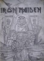 Iron Maiden by natiwar02