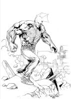 The Savage Dragon! by SpiderGuile