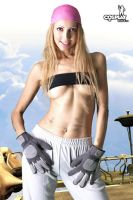 Me as Winry by cosplayerotica