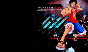 Moneky D. Luffy Wallpaper by bibixette