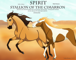 Spirit stallion of the cimarron by milomering