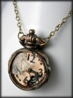 The Rabbit ran out of Time... by NeverlandJewelry