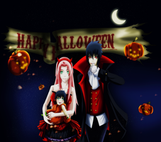 Happy Halloween by Zakuuya