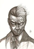 Two Face by AfzalAli