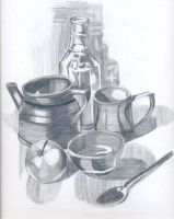 Objects of kitchen by DebyBee