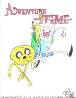Adventure Time With Finn And Jake colored by Suemoons