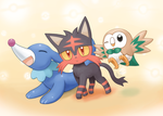Weekly art#61 Starter Trio by HowXu