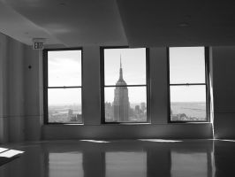 Empire State building by b3thanyisgangsta