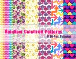 Rainbow Coloured Patterns by powerpuffjazz