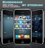 iPhone Shockwave by etcoman