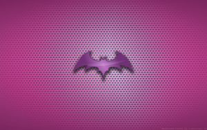 Wallpaper - Morrigan 'Bat' Logo by Kalangozilla