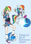 Magical mlp Rainbow Dash (Design Test) by skyshek