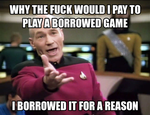 Picard on the XBOX ONE by UNDEADWARRIOR7411