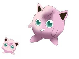 Jigglypuff not my best work :-( by Lady-ALTernate
