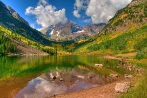 The Maroon Bells by eDDie-TK