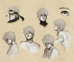 Naruto Sketches by MunchClown