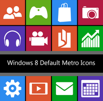 Windows 8 - DEFAULT TILES - 512px by dAKirby309